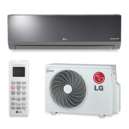 LG LA090HSV2 - 9,000 BTU 20 SEER Wall Mount Ductless Mini Split Air Conditioner Heat Pump 208-230V