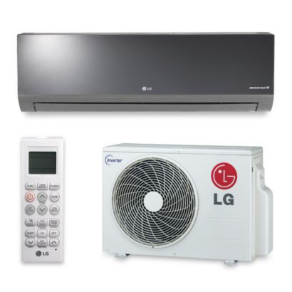 LG LA120HSV2 - 12,000 BTU 20 SEER Wall Mount Ductless Mini Split Air Conditioner Heat Pump 208-230V