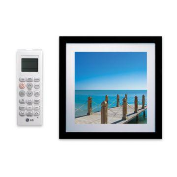 LG LAN090HVP - 9,000 BTU 16 SEER  Ductless Mini Split Framed Wall Mount Indoor Unit 208-230V