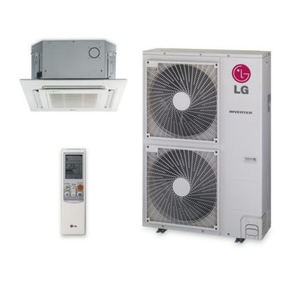 LG LC427HV -  42,000 BTU 17 SEER Ceiling Cassette Ductless Mini Split Air Conditioner Heat Pump 208-230V