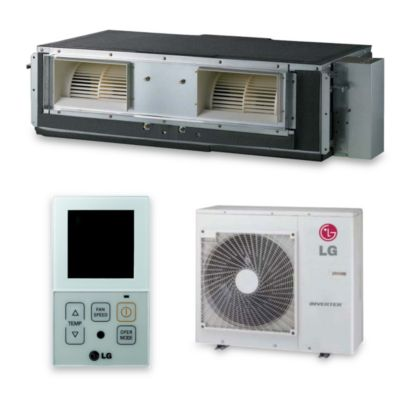 LG LH247HV - 24,000 BTU 17 SEER Concealed Duct Mini Split Air Conditioner Heat Pump 208-230V