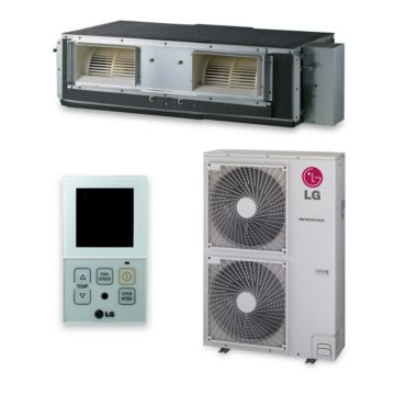 LG LH367HV - 36,000 BTU 17.6 SEER Concealed Duct Mini Split Air Conditioner with Heat Pump 220V
