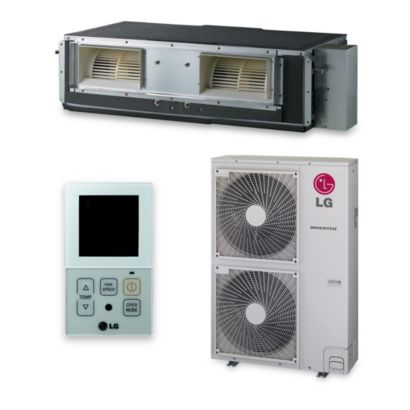LG LH367HV - 36,000 BTU 17.6 SEER Concealed Duct Mini Split Air Conditioner Heat Pump 208-230V