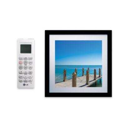 LG LMAN097HVP - 9,000 BTU Ductless Mini Split Framed Wall Mount Indoor Unit 208-230V