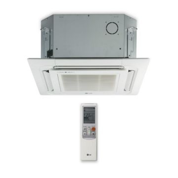 LG LMCN125HV - 12,000 BTU Ductless Mini Split Ceiling Cassette Indoor Unit 208-230V