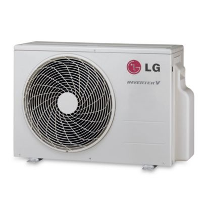 LG - 24,000 BTU Ductless Split Heat Pump Outdoor Unit 208/230 VAC