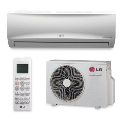 LG LS090HEV - 9,000 BTU 16.3 SEER Wall Mount Ductless Mini Split Air Conditioner Heat Pump 208-230V
