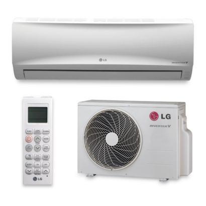LG LS180HEV - 17,000 BTU 17 SEER Wall Mount Ductless Mini Split Air Conditioner Heat Pump 208-230V