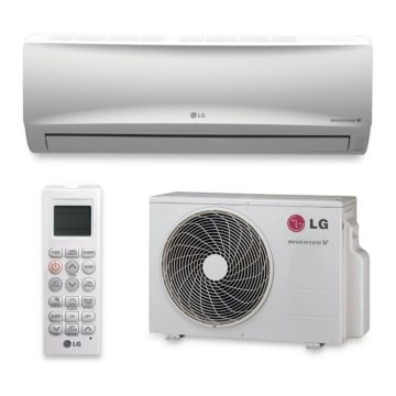 LG LS240HEV - 22,000 BTU 17 SEER Wall Mount Ductless Mini Split Air Conditioner Heat Pump 208-230V