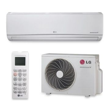 LG LS240HSV3 - 22,000 BTU 20 SEER Wall Mounted Ductless Mini Split Air Conditioner with Heat Pump 220V