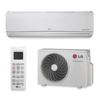 LG LS240HSV3 - 22,000 BTU 20 SEER Wall Mount Ductless Mini Split Air Conditioner Heat Pump 208-230V