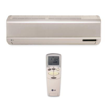 LG - 12,000 BTU Wall Mount Mini-Split Heat Pump Indoor Unit 115 VAC