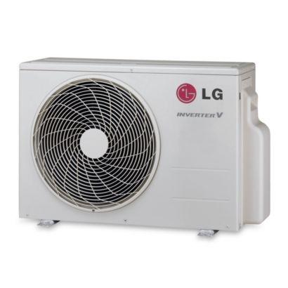LG - 9,000 BTU Ductless Split Heat Pump Outdoor Unit 208/230 VAC