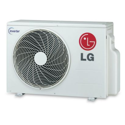 LG LSU091HSV3 - 9,000 BTU 20 SEER Ductless Mini Split Heat Pump Outdoor Unit 208-230V