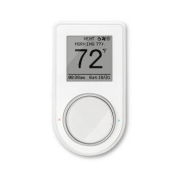 Lux GEO-WH-003 - Universal Wi-Fi Connected Thermostats, 7-Day Prog/Manual 2H/2C, White