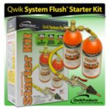 Mainstream Engineering QT1150 - Qwik System Flush® Start-up Kit w/2- 1 lb. Cans, Hose, Nozzle, & Valve