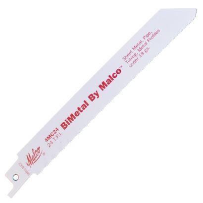 "Malco 4MC24 - Reciprocating Saw Blade for Metal 6"" x 24 TPI"