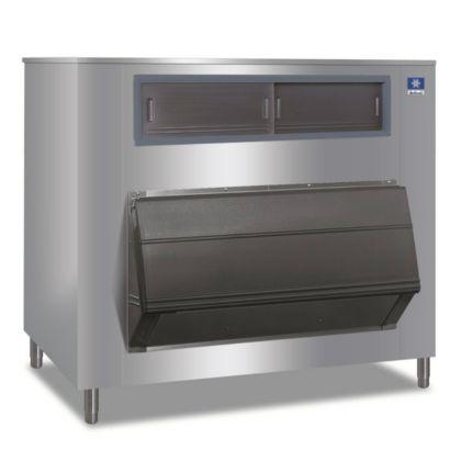"Manitowoc F-1325 - F-Style 60"" 1325 Lb Large Capacity Modular Ice Storage Bin With 30""/48"" Indigo Adapter"