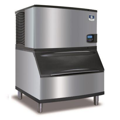 """Manitowoc ID0302A-161-B170 - 4,600 BTU 30"""" Indigo Dice Cube Ice Machine & B-Style Bin System 115V"""