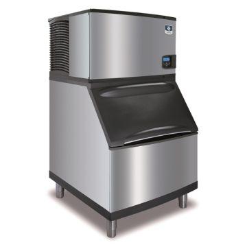 """Manitowoc ID0302A-161-B400 - 4,600 BTU 30"""" Indigo Dice Cube Ice Machine & B-Style Bin System 115V"""