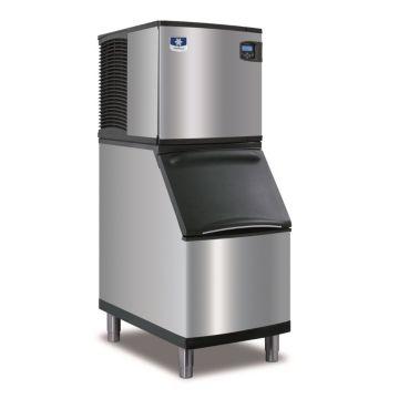"""Manitowoc ID0322A-161-B320 - 3,300 BTU 22"""" Indigo Dice Cube Ice Machine & 210 lbs B-Style Bin System 115V"""