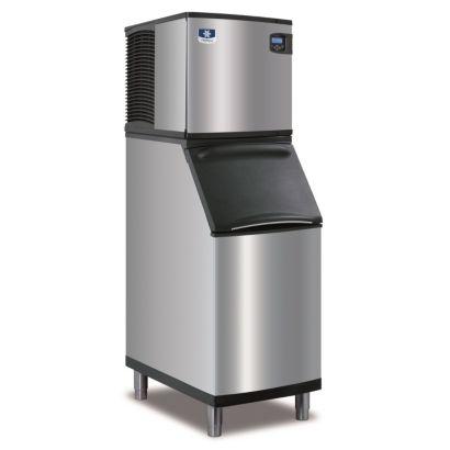 """Manitowoc ID0322A-161-B420 - 3,300 BTU 22"""" Indigo Dice Cube Ice Machine & B-Style Bin System 115V"""