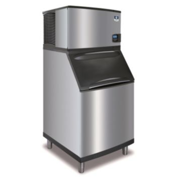 """Manitowoc ID0606A-261-B570 - 11,800 BTU 30"""" Indigo Dice Cube Ice Machine & 430 lbs B-Style Bin System 220V"""