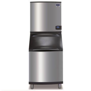 """Manitowoc ID1106A-261-B570 - 16,250 BTU 30"""" Indigo Dice Cube Ice Machine & B-Style Bin System 208-230V"""