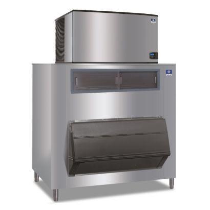 """Manitowoc ID1802A-261-F1650 - 30,000 BTU 48"""" Indigo Dice Cube Ice Machine & F-Style Bin System 208-230V"""