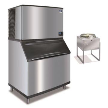 """Manitowoc ID1892N-261-B970 - 30,000 BTU 48"""" Remote Cooled Indigo Dice Cube Ice Machine & B-Style Bin System 208-230V"""