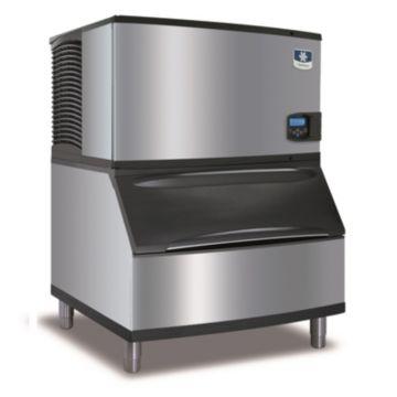 """Manitowoc IY-0304A-161-B170 - 4,600 BTU 30"""" Indigo Half Dice Cube Ice Machine & 150 lbs B-Style Bin System 115V"""