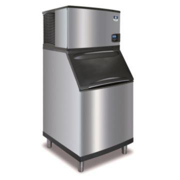 """Manitowoc IY0454A-161-B570 - 5,400 BTU 30"""" Indigo Half Dice Cube Ice Machine & B-Style Bin System 115V"""