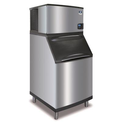 """Manitowoc IY0504A-161-B570 - 6,100 BTU 30"""" Indigo Half Dice Cube Ice Machine & B-Style Bin System 115V"""