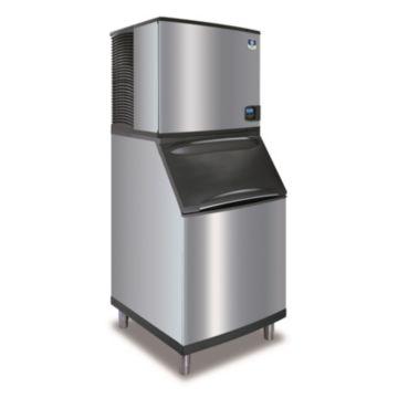 """Manitowoc IY0906A-261-B570 - 12,700 BTU 30"""" Indigo Half Dice Cube Ice Machine & 430 lbs B-Style Bin System 220V"""