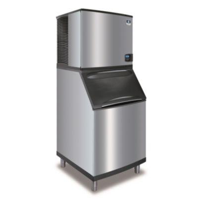 """Manitowoc IY0906A-261-B570 - 12,700 BTU 30"""" Indigo Half Dice Cube Ice Machine & B-Style Bin System 208-230V"""