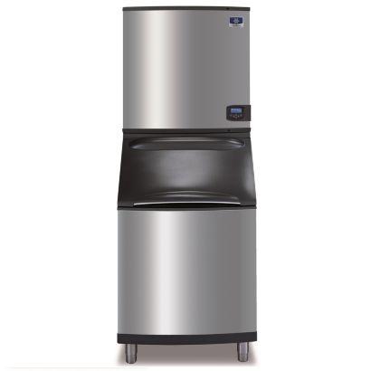 """Manitowoc IY1106A-261-B570 - 16,250 BTU 30"""" Indigo Half Dice Cube Ice Machine & B-Style Bin System 208-230V"""