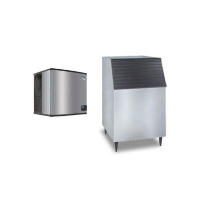 """Manitowoc IY1106A-261-C730S - 16,250 BTU 30"""" Indigo Half Dice Cube Ice Machine & C-Style Bin System 208-230V"""