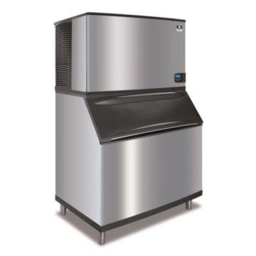 """Manitowoc IY1404A-261-B970 - 23,500 BTU 48"""" Indigo Half Dice Cube Ice Machine & B-Style Bin System 208-230V"""