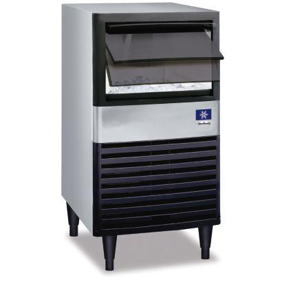 Manitowoc QM30A-161 - 1,600 BTU Under Counter Dice Cube Ice Machine With 30-lb. Bin 115V