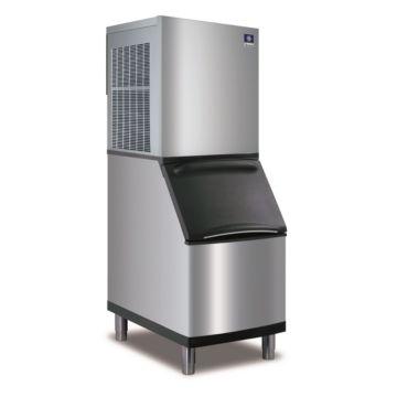 """Manitowoc RFS0650A-161-B320 - 5,200 BTU 22"""" RFS Flake Ice Machine & 210 lbs B-Style Bin System 115V"""