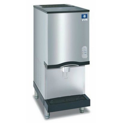Manitowoc RNS12A-161 - 2,300 BTU Lever Activated Counter Top Nugget Ice Machine With 12-lb. Bin 115V