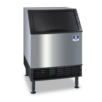 Manitowoc UY0240A-161B - 2,700 BTU NEO Series Under Counter Half Dice Cube Ice Machine With 80-lb. Bin 115V