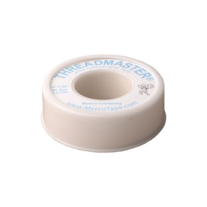 "Merco 686028-A - Thread Sealing Tape (Teflon) - White - 1/2"" x 520"""