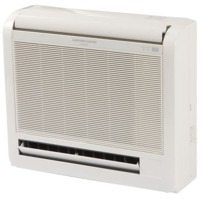 Mitsubishi MFZ-KA12NA - 12,000 BTU Ductless Mini Split Floor Console Indoor Unit 208-230V