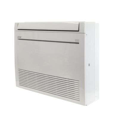 Mitsubishi MFZ-KJ09NA-U1 - 9,000 BTU 28.2 SEER Floor Mount Ductless Mini Split Heat Pump Indoor Unit 208-230V
