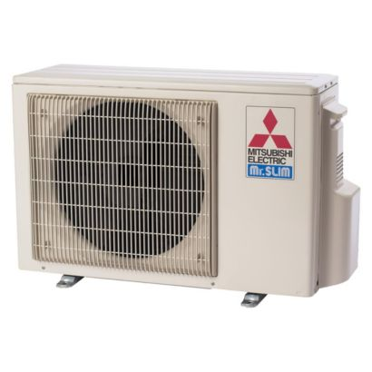 Mitsubishi 9,000 BTU 26 SEER Ductless Hyper Heat Pump Outdoor Condenser