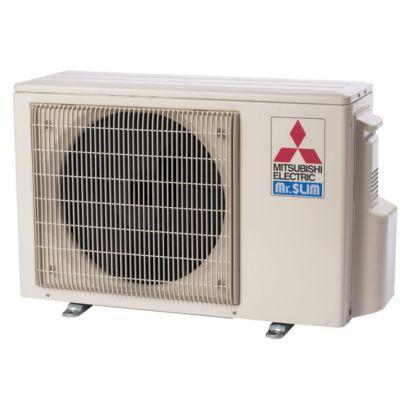 Mitsubishi MUZ-FE09NA-1 -  9,000 BTU 26 SEER Ductless Hyper Heat Pump Outdoor Condenser 208-230V