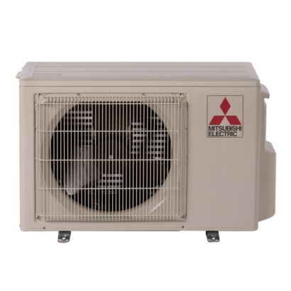 Mitsubishi MUZ-FH09NA - 9,000 BTU 30.5 SEER Hyper Heat Ductless Mini Split Heat Pump Outdoor Unit 208-230V