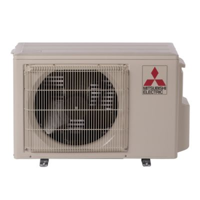 mitsubishi muzfh09na btu 305 seer hyper heat ductless mini split heat pump outdoor unit 208230v