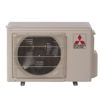 Mitsubishi MUZ-FH12NA - 12,000 BTU 26.1 SEER Ductless Mini Split Heat Pump Outdoor Unit 208-230V with H2iÆ Hyper Heat